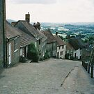 Gold Hill, Shaftesbury, UK by BronReid