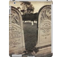 Graveyard Adornments #59  iPad Case/Skin