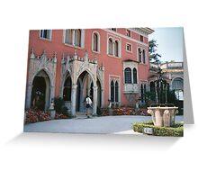 Villa of Ephrussi de Rothschild, St Jean, Cap Ferrat Greeting Card