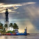 Hillsboro Lighthouse by Bill Wetmore