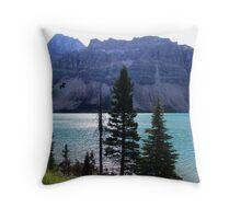 Bow Lake (2) Throw Pillow