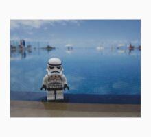 Dave Stormtrooper Tenerife by Pool Baby Tee