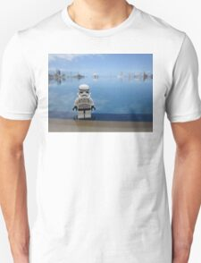 Dave Stormtrooper Tenerife by Pool Unisex T-Shirt