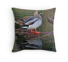 Together We Reflect Throw Pillow