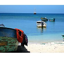 Boats afloat Photographic Print