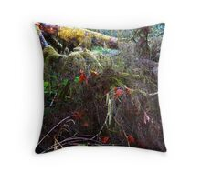 The Floor of a Rain Forest Throw Pillow