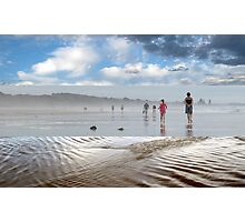 A Break in the Weather - Triptych Photographic Print