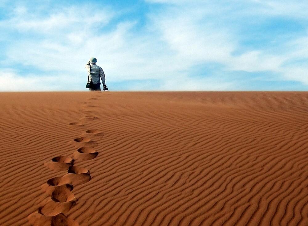 Leave only footprints behind  by areyarey