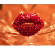 Hot Lips! Photographic Print