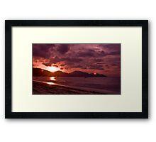 Penang Sunset 2010 Framed Print