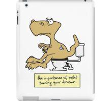 Train your dinosaur. iPad Case/Skin