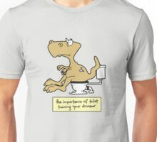 Train your dinosaur. Unisex T-Shirt