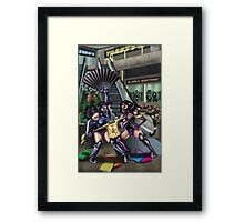 Mortal Mall Framed Print