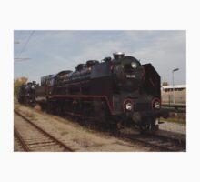 Steam Train BR 919.138 In Vienna, Austria Kids Tee