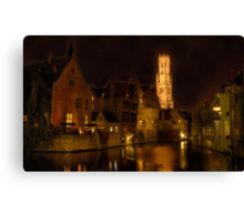 Ghost Hunting  Canvas Print