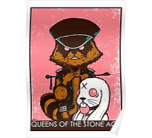 queen of the stone age pink Poster