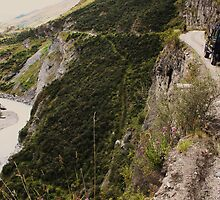 On The Edge - Skippers Canyon, Queenstown NZ by brendanscully