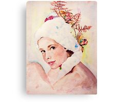 a pretty face Canvas Print