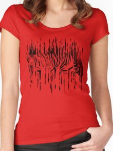 In Flames Women's Fitted Scoop T-Shirt