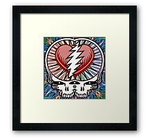 They Love Each Other Framed Print