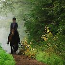 Riding in a world of green by jchanders