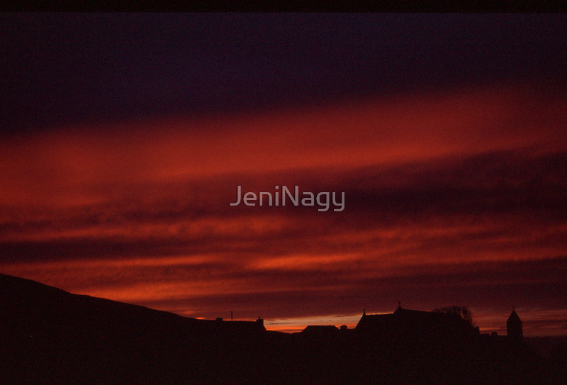 Glencolmcille sunset by JeniNagy