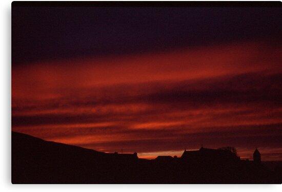Glencolmcille sunset by JeniNagy