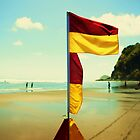 Piha New Zealand with a 70's Look by Adam Jones