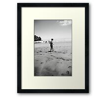 Water quest Framed Print