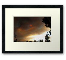 Morbid Skies Framed Print