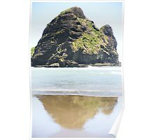 Piha Reflections Poster