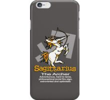 Sagittarius The Archer iPhone Case/Skin