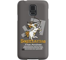 Sagittarius The Archer Samsung Galaxy Case/Skin