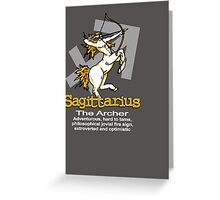 Sagittarius The Archer Greeting Card