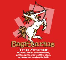 Sagittarius The Archer Kids Tee