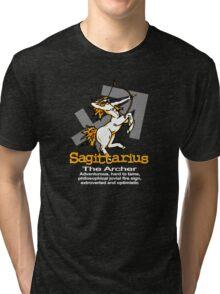 Sagittarius The Archer Tri-blend T-Shirt