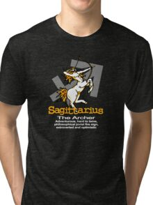 Sagittarius The Archer Tri-blend T-Shirt