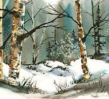 Winter Fields #3 by Matt Moberly