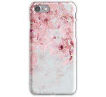 Meshed Up Japanese Sakura Blossoms iPhone Case/Skin