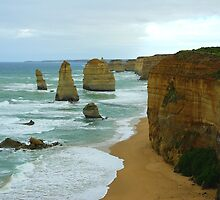 Twelve Apostles by Kerry  Hill