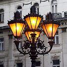 Budapest Streetlight by Segalili