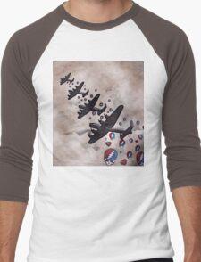 Bombs Away Men's Baseball ¾ T-Shirt