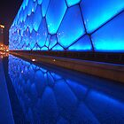 Blue water building by PeterBusser