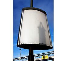 Street broadcast 3 Photographic Print