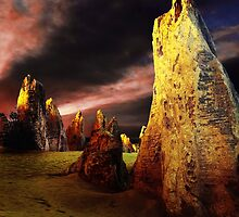 The Pinnacles - W.A. by Ohlordi