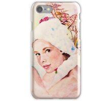 a pretty face iPhone Case/Skin