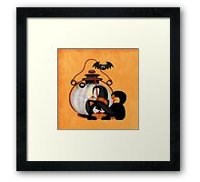An Angry Cat  Framed Print