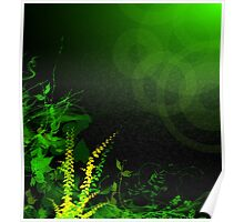 Abstract Digital Background Poster