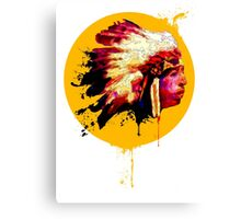 Chief! Canvas Print