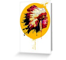 Chief! Greeting Card